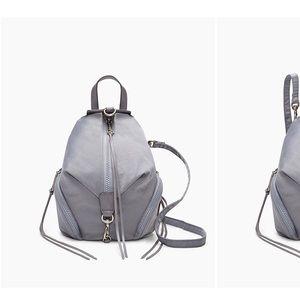 Rebecca minkoff convertible mini nylon backpack